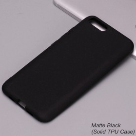 Solid TPU Silicone Softcase for for Xiaomi Mi6 - Black