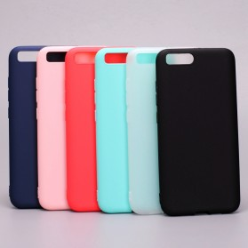 Solid TPU Silicone Softcase for for Xiaomi Mi6 - Black - 2
