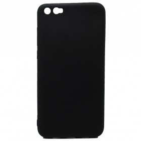 Solid TPU Silicone Softcase for for Xiaomi Mi6 Plus - Black