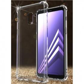 Anti Crack Case for Samsung Galaxy A8 2018 - Transparent
