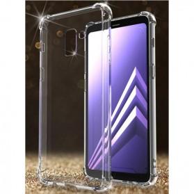 Anti Crack Case for Samsung Galaxy A8 Plus 2018 - Transparent