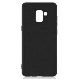 Silicone Softcase for Samsung Galaxy A8 2018 - Black