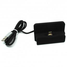 Charging Dock Magnetic Micro USB - Black
