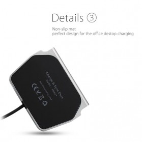 Charging Dock Magnetic USB Type C - Black - 6