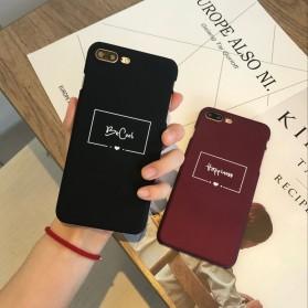 Smart Word Hardcase for iPhone 7 Plus / 8 Plus - Black - 2