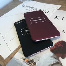 Smart Word Hardcase for iPhone 7 Plus / 8 Plus - Black - 5