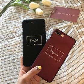 Smart Word Hardcase for iPhone 7 Plus / 8 Plus - Black - 7