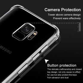 Anti Crack Case for Samsung Galaxy S9 - Transparent - 7
