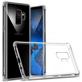 Anti Crack Case for Samsung Galaxy S9 Plus - Transparent