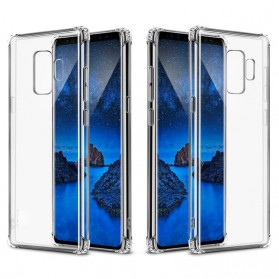 Anti Crack Case for Samsung Galaxy S9 Plus - Transparent - 3
