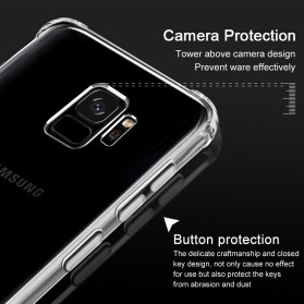 Anti Crack Case for Samsung Galaxy S9 Plus - Transparent - 7