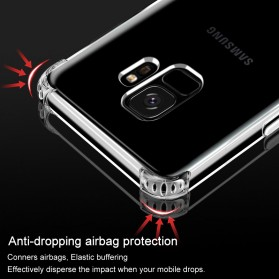 Anti Crack Case for Samsung Galaxy S9 Plus - Transparent - 8