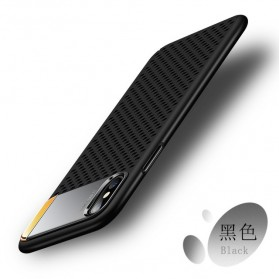 Zinc Alloy Armor Case with  Kickstand for iPhone 7/8 - Black