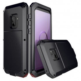 Full Protective Heavy Duty Armor Case for Samsung Galaxy S9 Plus - Black