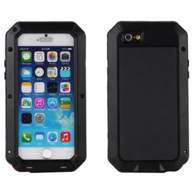 Full Protective Heavy Duty Armor Case for iPhone X - Black - 1