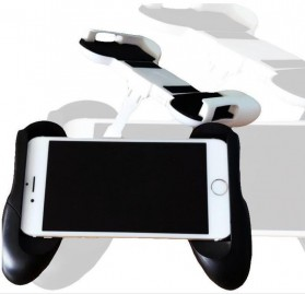 Mobile Gamepad Hand Grip Holder for Smartphone - A500 - Black