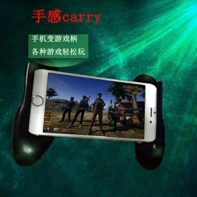 Mobile Gamepad Hand Grip Holder for Smartphone - A500 - Black - 5