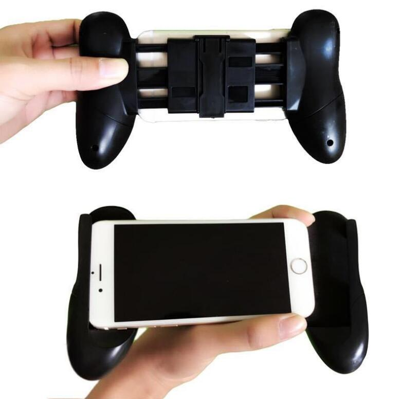 Mobile Gamepad Hand Grip Holder for Smartphone - Black - 4