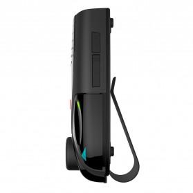 Clip Bluetooth FM Transmitters Handsfree Mobil 3.5mm - BT69 - Black - 4