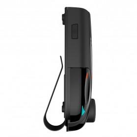 Clip Bluetooth FM Transmitters Handsfree Mobil 3.5mm - BT69 - Black - 5