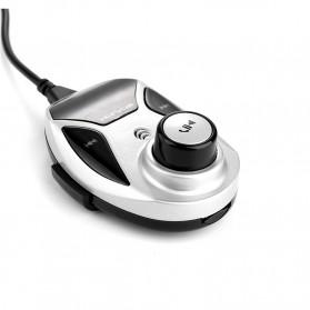 Bluetooth FM Transmitters Handsfree Mobil 3.5mm 2 USB Port 2.1A - BT12 - Black - 3