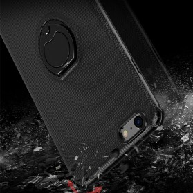 Creatives iRing Hard Case for iPhone X - Black - 5