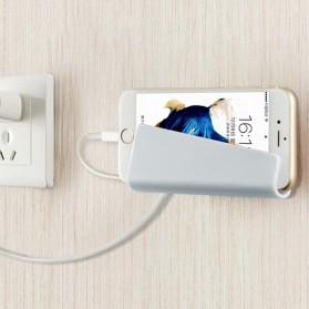 Wall Smartphone Holder Dinding - K9713 - White