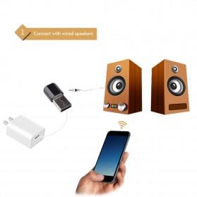 USB Bluetooth Receiver 3.5mm - K12 - Black - 2