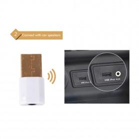 USB Bluetooth Receiver 3.5mm - K12 - Black - 3