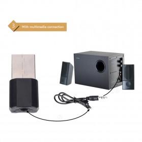 USB Bluetooth Receiver 3.5mm - K12 - Black - 4