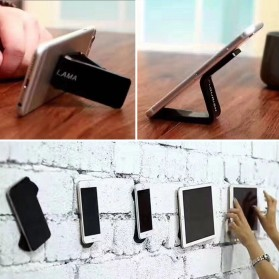 FLOURISH Holder Smartphone Nano Adhesive Sticky Rubber Pad - HHY - Black - 8