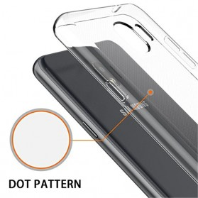 Ultra Slim TPU Case for Samsung Galaxy J4 2018 - Transparent - 5