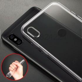 Ultra Thin TPU Case for Xiaomi Redmi S2 - Transparent - 2