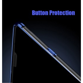 Softcase Silicone Laser Plating for OnePlus 6 - Blue - 5
