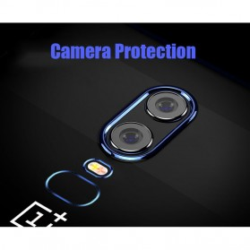 Softcase Silicone Laser Plating for OnePlus 6 - Blue - 8
