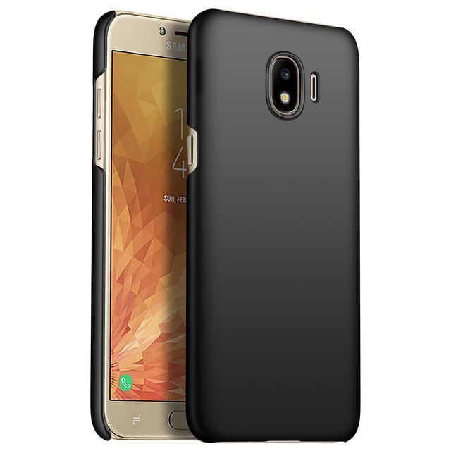 info for ff6e4 cc1eb Ultra Thin Hard Case for Samsung Galaxy J4 2018 - Black