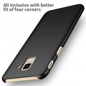 Ultra Thin Hard Case for Samsung Galaxy J6 2018 - Black - 2