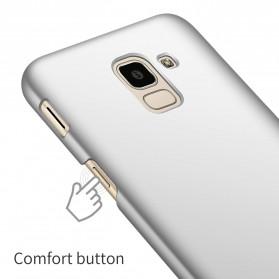 Ultra Thin Hard Case for Samsung Galaxy J6 2018 - Black - 4