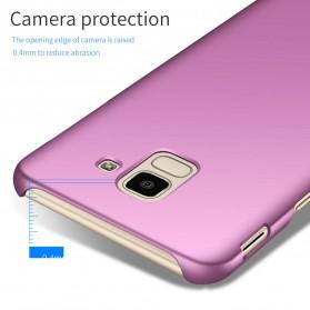 Ultra Thin Hard Case for Samsung Galaxy J6 2018 - Black - 5