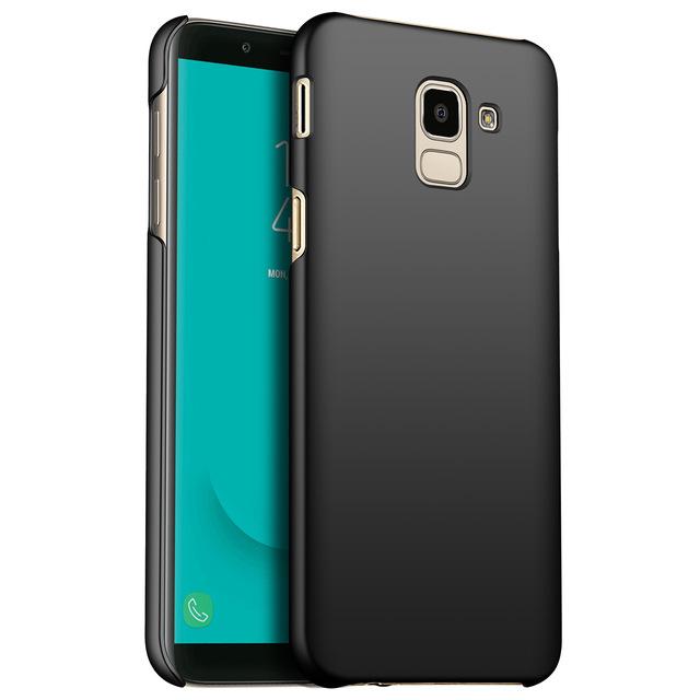 Ultra Thin Hard Case for Samsung Galaxy J6 2018 - Black