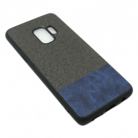 Fabric Hardcase for Samsung Galaxy S9 - Blue