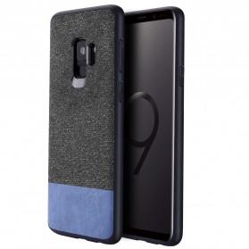 Fabric Hardcase for Samsung Galaxy S9 - Blue - 2