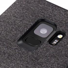 Fabric Hardcase for Samsung Galaxy S9 - Blue - 4