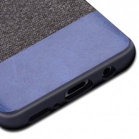 Fabric Hardcase for Samsung Galaxy S9 - Blue - 5