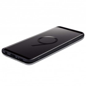 Fabric Hardcase for Samsung Galaxy S9 - Blue - 6