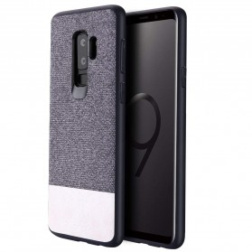 Fabric Hardcase for Samsung Galaxy S9 Plus - White - 2