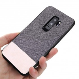 Fabric Hardcase for Samsung Galaxy S9 Plus - White - 3
