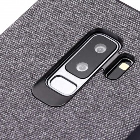 Fabric Hardcase for Samsung Galaxy S9 Plus - White - 4