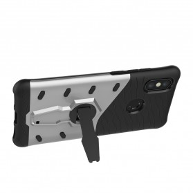 TPU Softcase with Kickstand for Xiaomi Mi6X - Black - 2