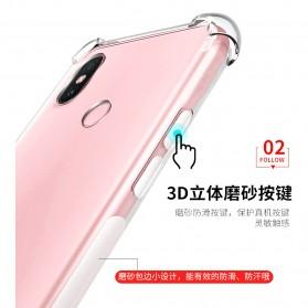 Transparent Crystal Shockproof Softcase For Xiaomi 8 - Transparent - 2